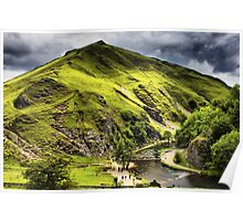 Dovedale, Thorpe Cloud Stepping Stones Poster