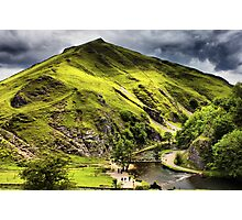 Dovedale, Thorpe Cloud Stepping Stones Photographic Print