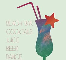 Welcome beach bar by Vinchenko
