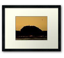 Coastal Sunset ~ Part One Framed Print