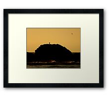 Coastal Sunset ~ Part One Framed Print