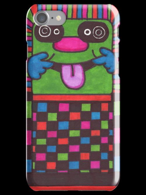 Green Doodle Man by lequarius