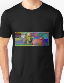 Pop-Art Colorized One Hundred US Dollar Bill Unisex T-Shirt