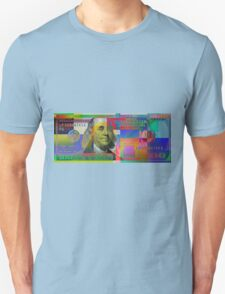 Pop-Art Colorized One Hundred US Dollar Bill Unisex T-Shirt