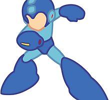 Mega Man Minimalist by dusterherz