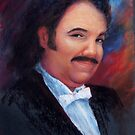 Hedgehog: portrait of Ron Jeremy by David Alexander