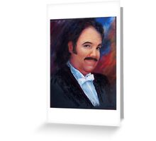 Hedgehog: portrait of Ron Jeremy Greeting Card