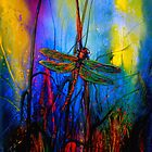 Early One Morning..Dragonfly Towards The Light #5 by ©Janis Zroback