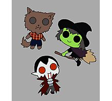 Adorable Monsters Photographic Print