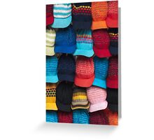 Knit caps Greeting Card