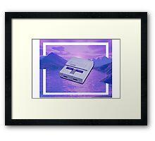 snes cuh Framed Print