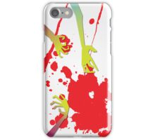 Zombie Attack! iPhone Case/Skin