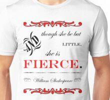She is fierce Unisex T-Shirt