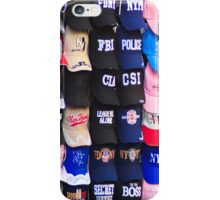 An array of baseball caps iPhone Case/Skin