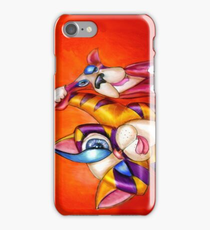 Seriously a Dog Costume? iphone case, by Alma Lee iPhone Case/Skin