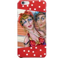 Pink Trailer: the Trixie Sisters, iphone case, by Alma Lee iPhone Case/Skin
