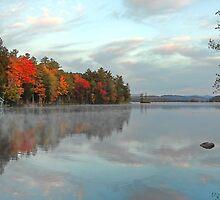 Fall - Highland Lake (Kramers Landing) by T.J. Martin