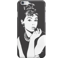Audrey iPhone Case/Skin