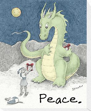 Peace Dragon by betsystreeter