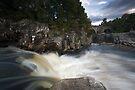 Black Water Falls by Roddy Atkinson