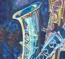 Electric Reeds A Jazzy Case by JennyArmitage