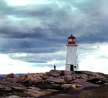 Peggy's Cove Lighthouse by jeswierz