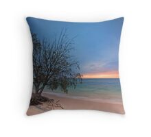 The Seaside Tree - Amity Pt  North Stradbroke Island Qld Australia Throw Pillow