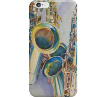 Saxy Trio I iPhone Case/Skin