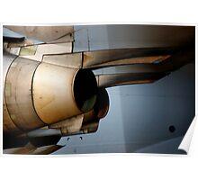 Lockheed C-17 engines Poster