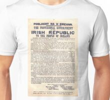 1916 Irish Proclamation Unisex T-Shirt