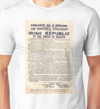 1916 Irish Proclamation Unisex T-Shirt