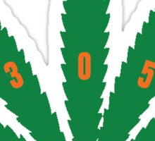 miami weed Sticker