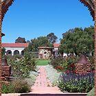 Mission Garden - San Luis Rey by Glenn McCarthy