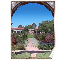 Mission Garden - San Luis Rey Poster