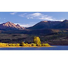 Gore Range From Green Mountain Reservoir Photographic Print