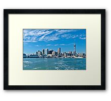 City of Sails Framed Print