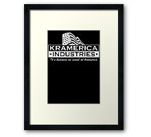 Kramerica Industries  Framed Print
