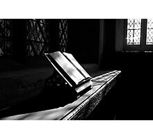 Looking through the Bible.... Photographic Print