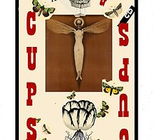 Dada Tarot- Page of Cups by Peter Simpson