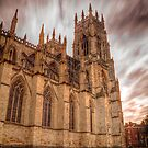 York Minster Sky by Mat Robinson