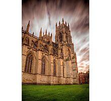 York Minster Sky Photographic Print