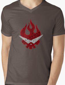 Gurren Lagann typography Mens V-Neck T-Shirt
