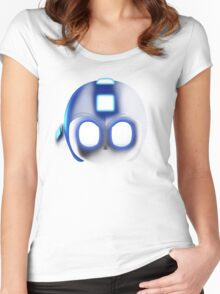 Megaman - SSB4 Women's Fitted Scoop T-Shirt