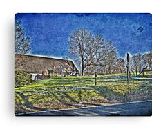 The Rush of Day Canvas Print