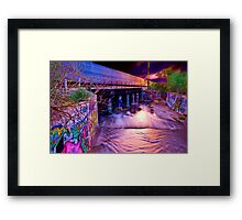 Urban Sunset Framed Print