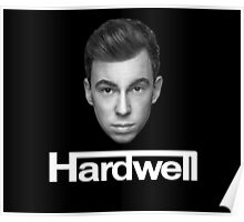 DJ Hardwell Face Official Products!  Poster