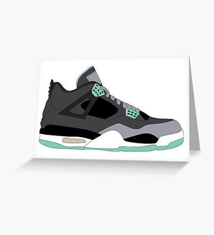 Jordans  Greeting Card