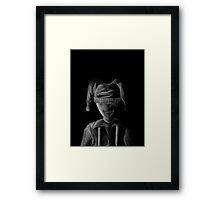 Fade to Black - Child's Play Framed Print