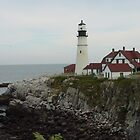 Portland Head Light, Maine by katherine rohnert