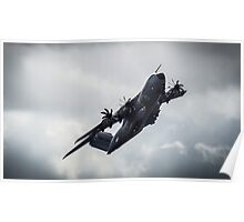 A400M Power Through The Storm Poster